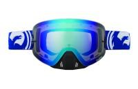 NFX MOTO Blue White SPLIT / Blue Steel + Clear