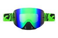 NFX GreenBlack SPLIT / Green Ionized + Clear